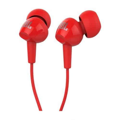 אוזניות IN EAR עם מיק אדום JBL C100SIURED