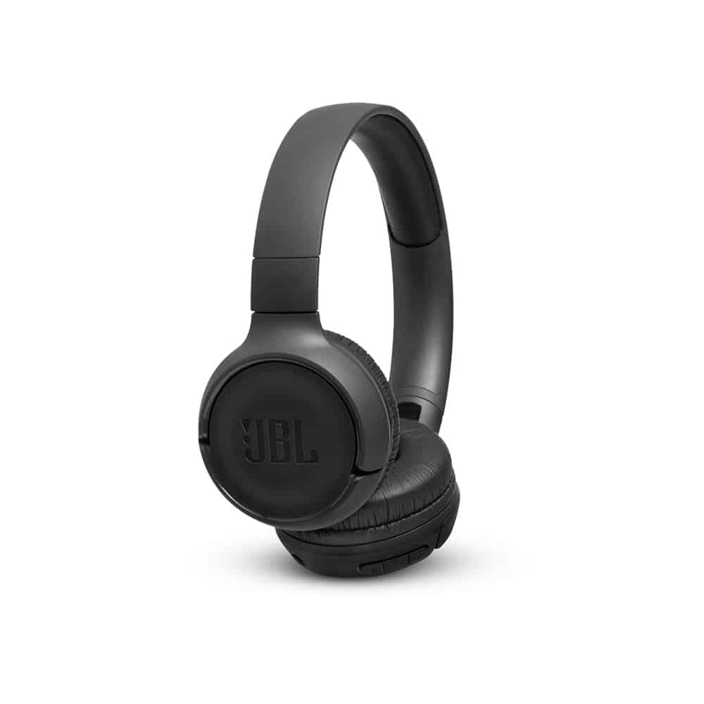 אוזניות  בצבע שחור JBL TUNE T500