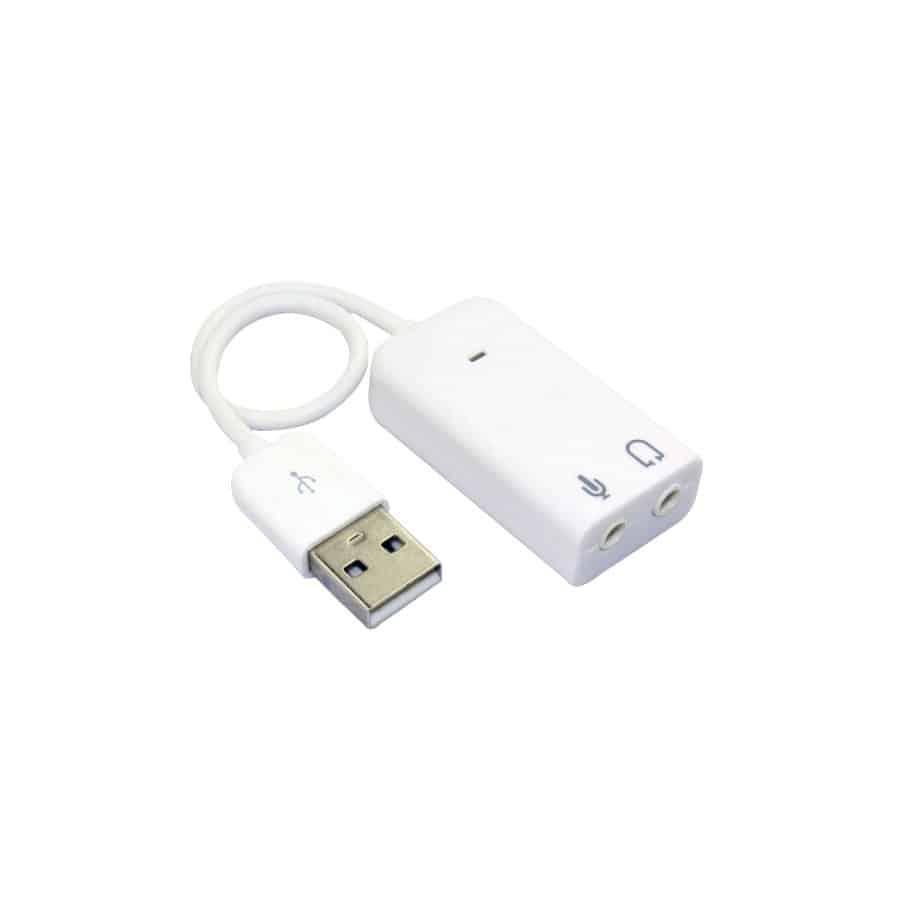 USB SOUND CARD 7.1 CHANNEL
