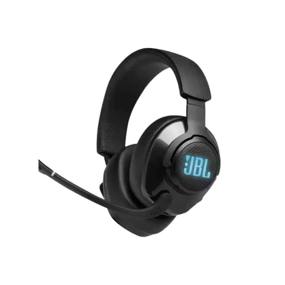 אוזניות גיימינג צבע שחור  JBL QUANTUM 100