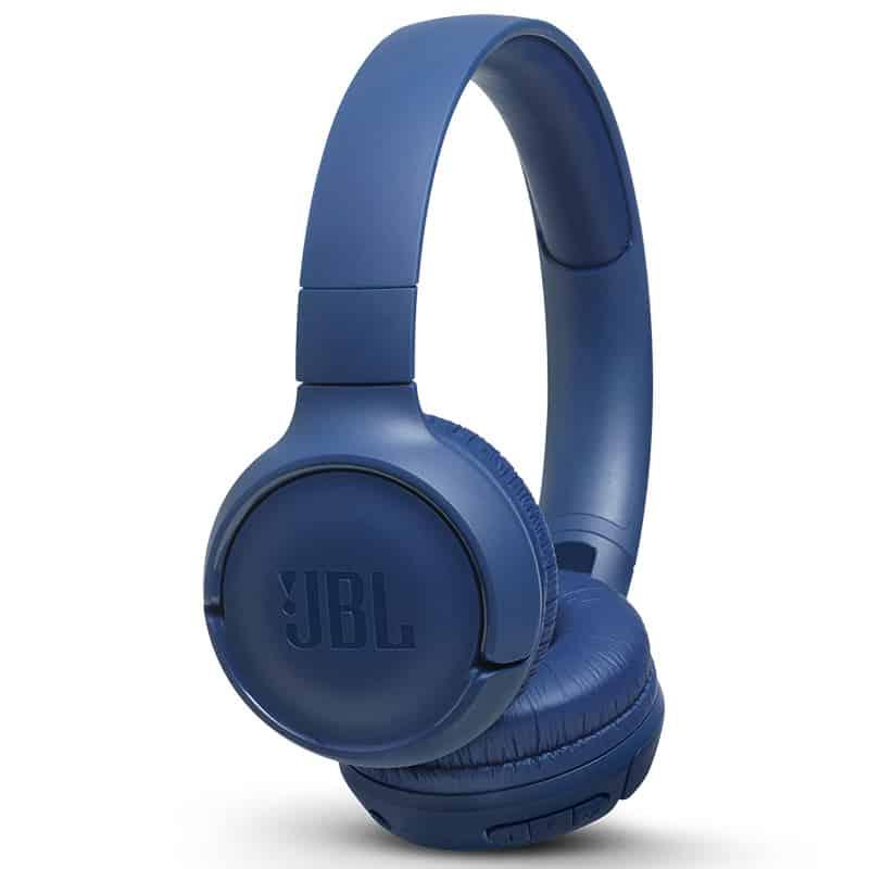 אוזניות  בצבע כחול JBL TUNE T500