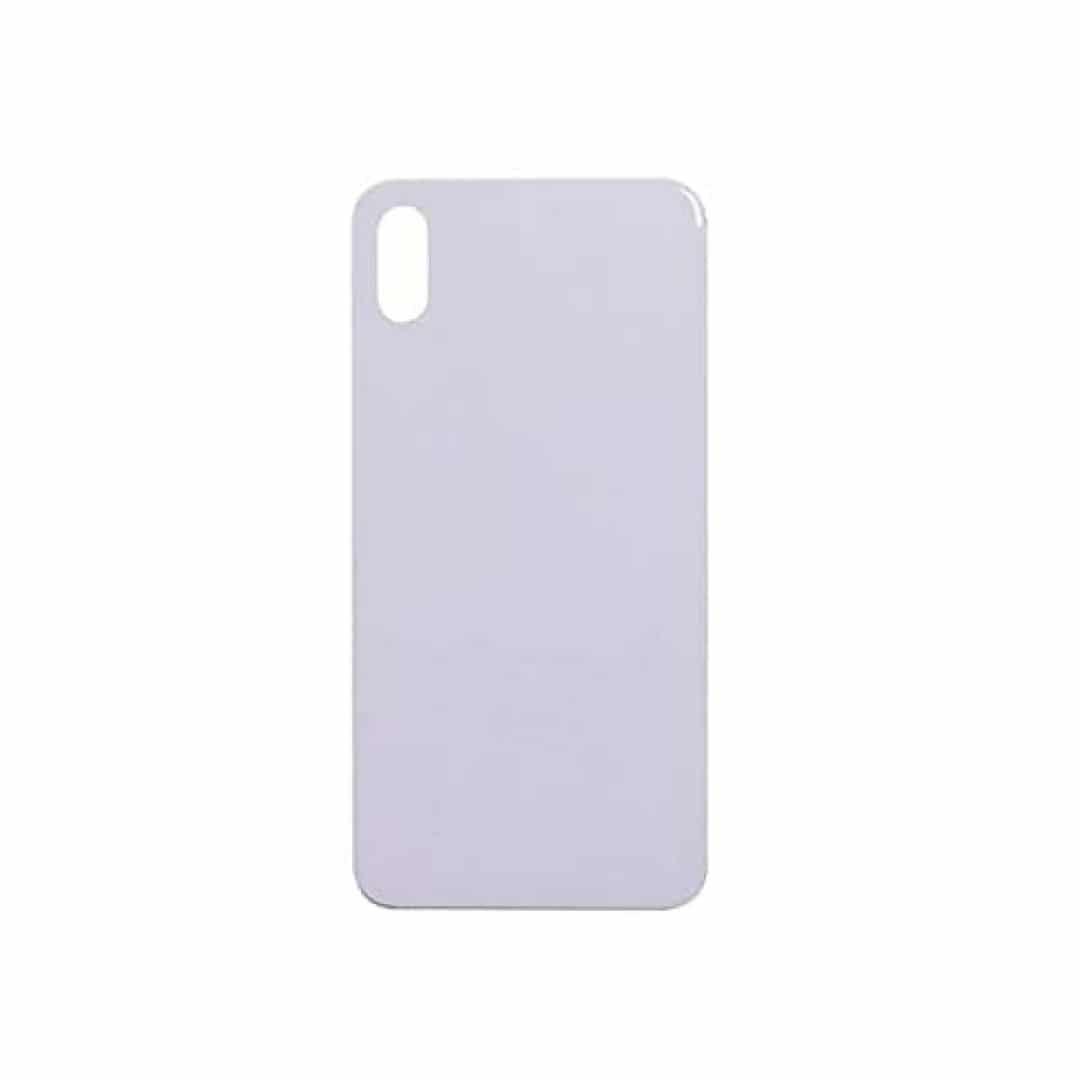 גב זכוכית אייפון 12 פרו מקס כחול