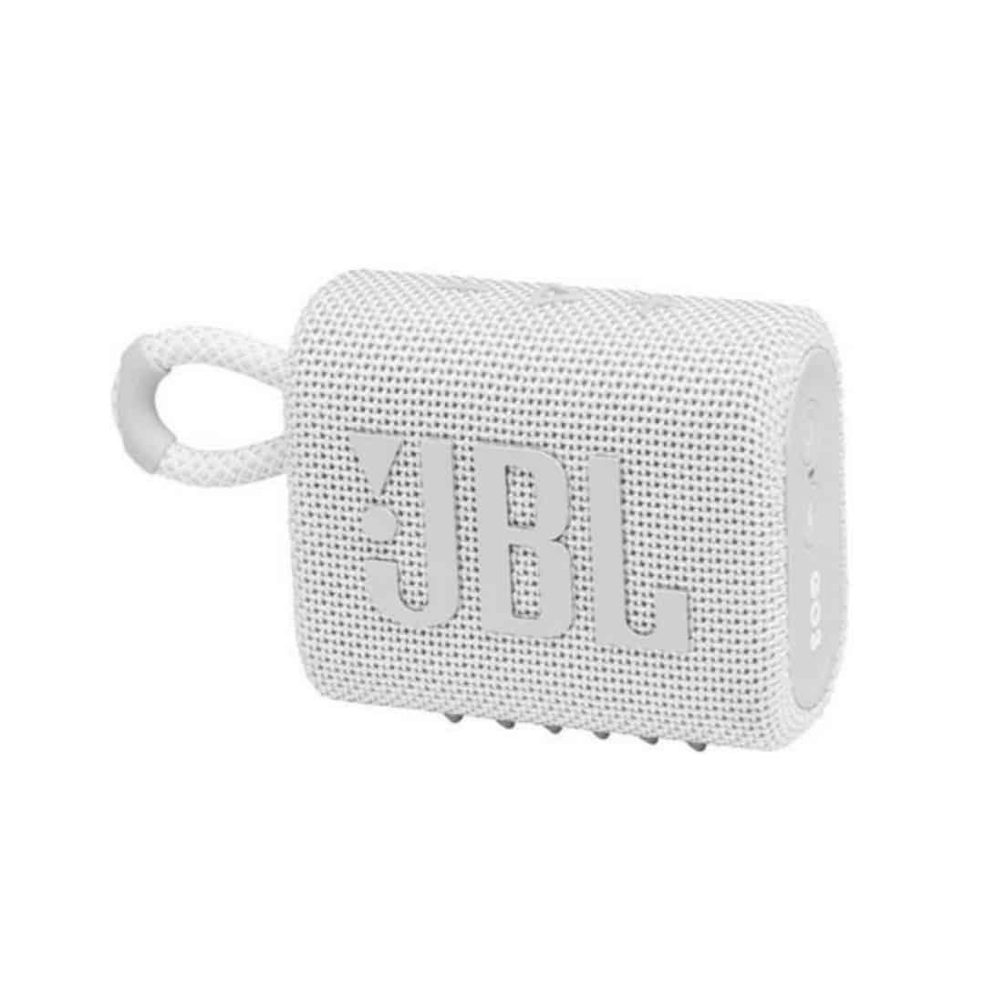 רמקול אלחוטי JBL GO 3 – לבן