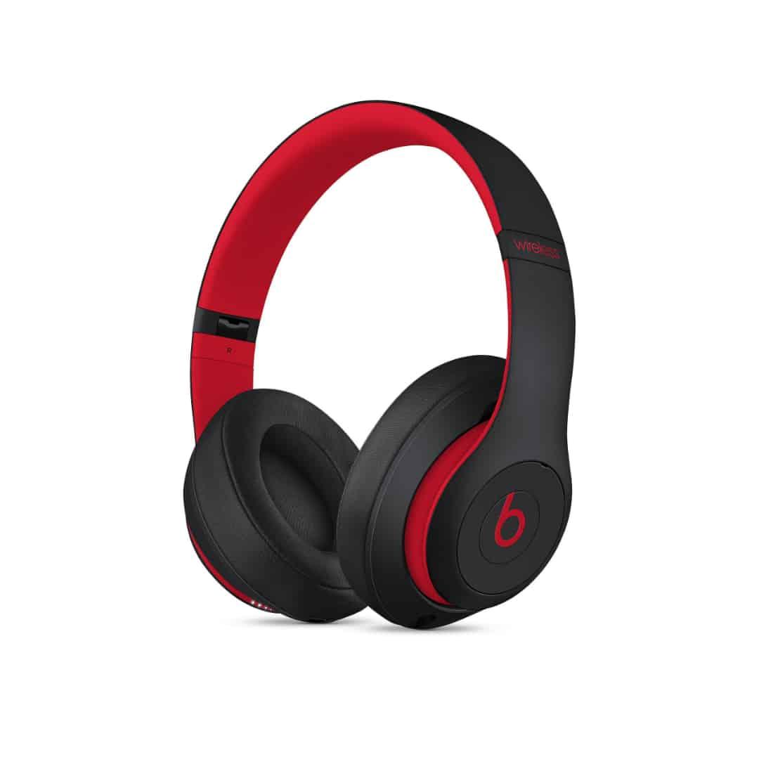 אוזניות בלוטוס BEATS STUDIO3 שחור/אדום