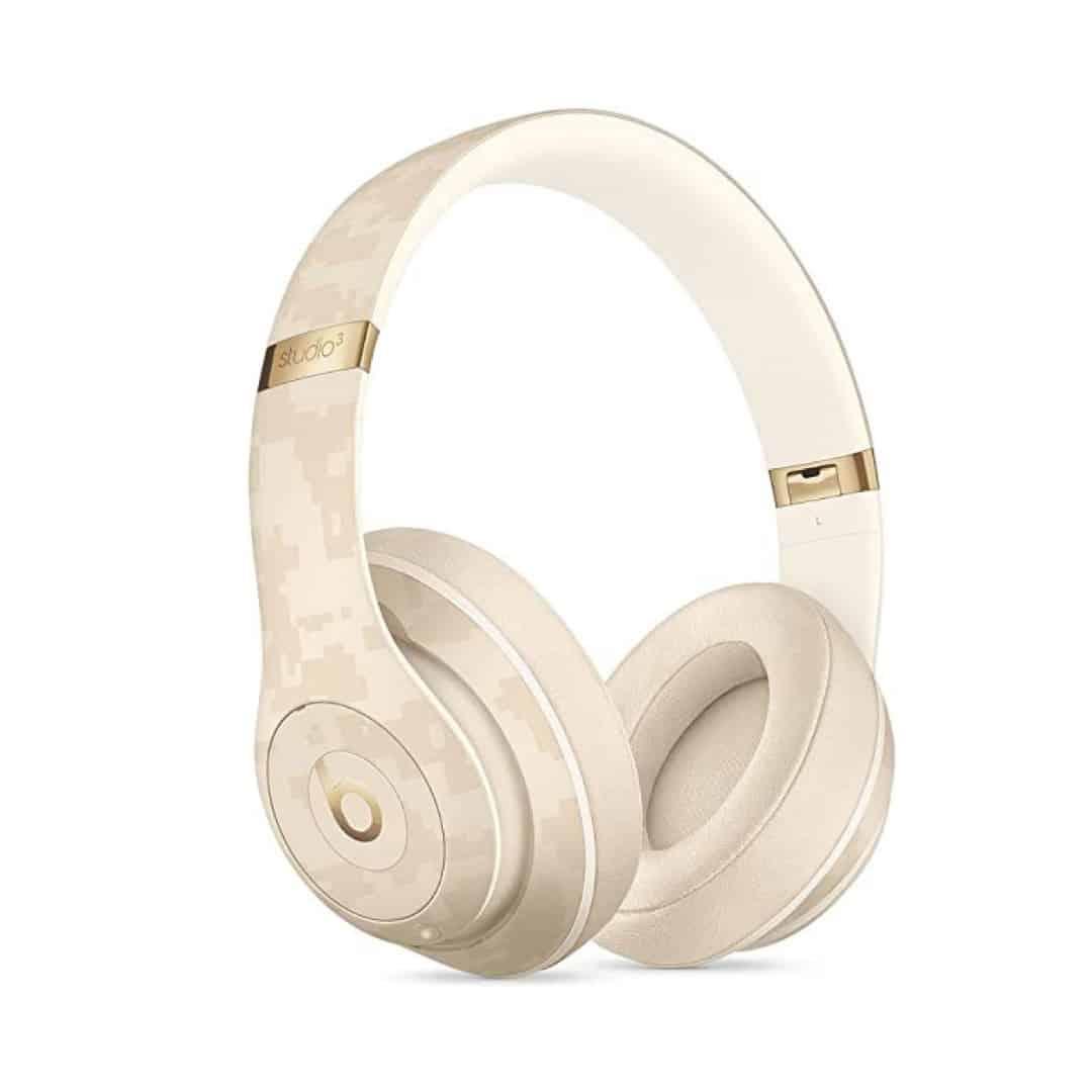 אוזניות בלוטוס BEATS STUDIO3 לבן/זהב