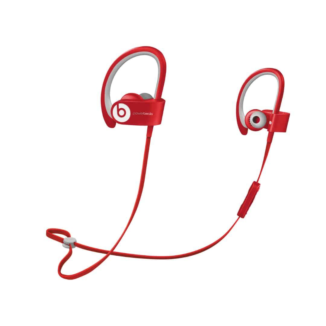 אוזניות בלוטוס POWERBEATS  אדום