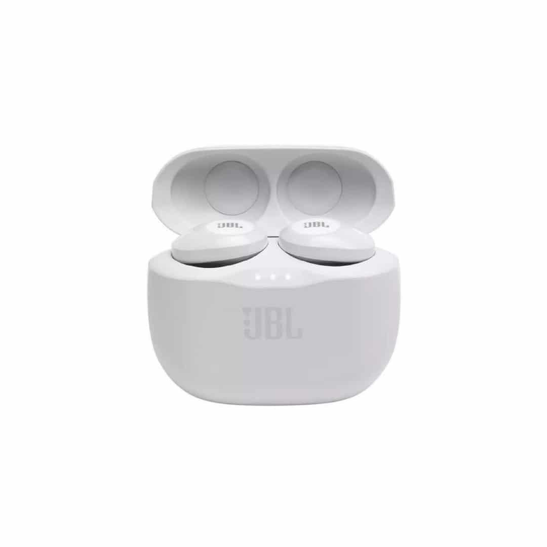 אוזניות כפתור בלוטוס TUNE 125 TWS לבן