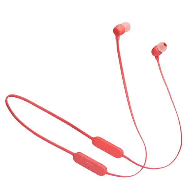 אוזניות ספורט בלוטוס TUNE 125 BT אדום