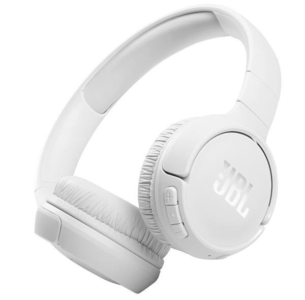 JBL T510BT אוזניות קשת אלחוטי לבן