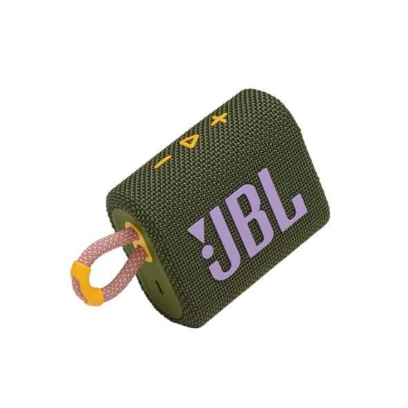 רמקול אלחוטי JBL GO 3 – ירוק