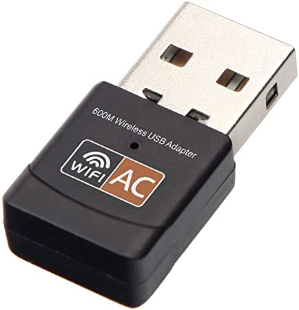 600MBPS 11AC DUAL BAND USB WIFI ADAPTER