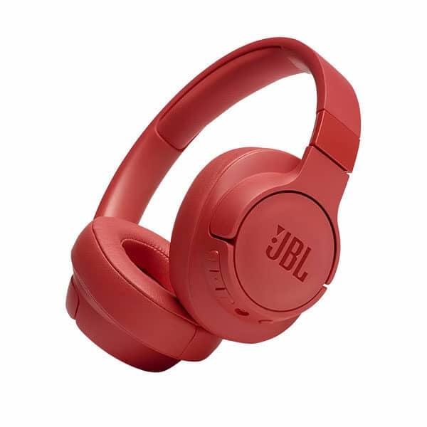 JBL TUNE 700BT אוזניות קשת בלוטוס אדום