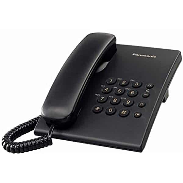 טלפון שולחני פנסוניק KX-TS500EX שחור