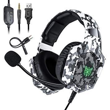 ONIKUMA K8 camouflage אוזניות גיימינג