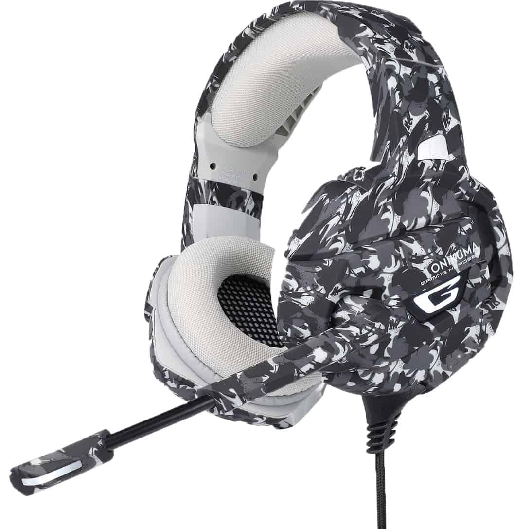 ONIKUMA K5 CAMOUFLAGE אוזניות גיימינג