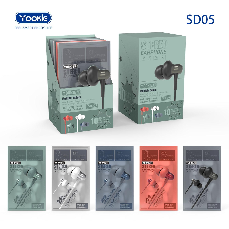 דיספליי אוזניות YOOKIE SD05