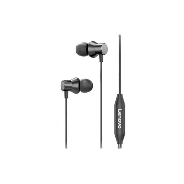 אוזניית חוט LENOVO METAL EARPHONE HF130